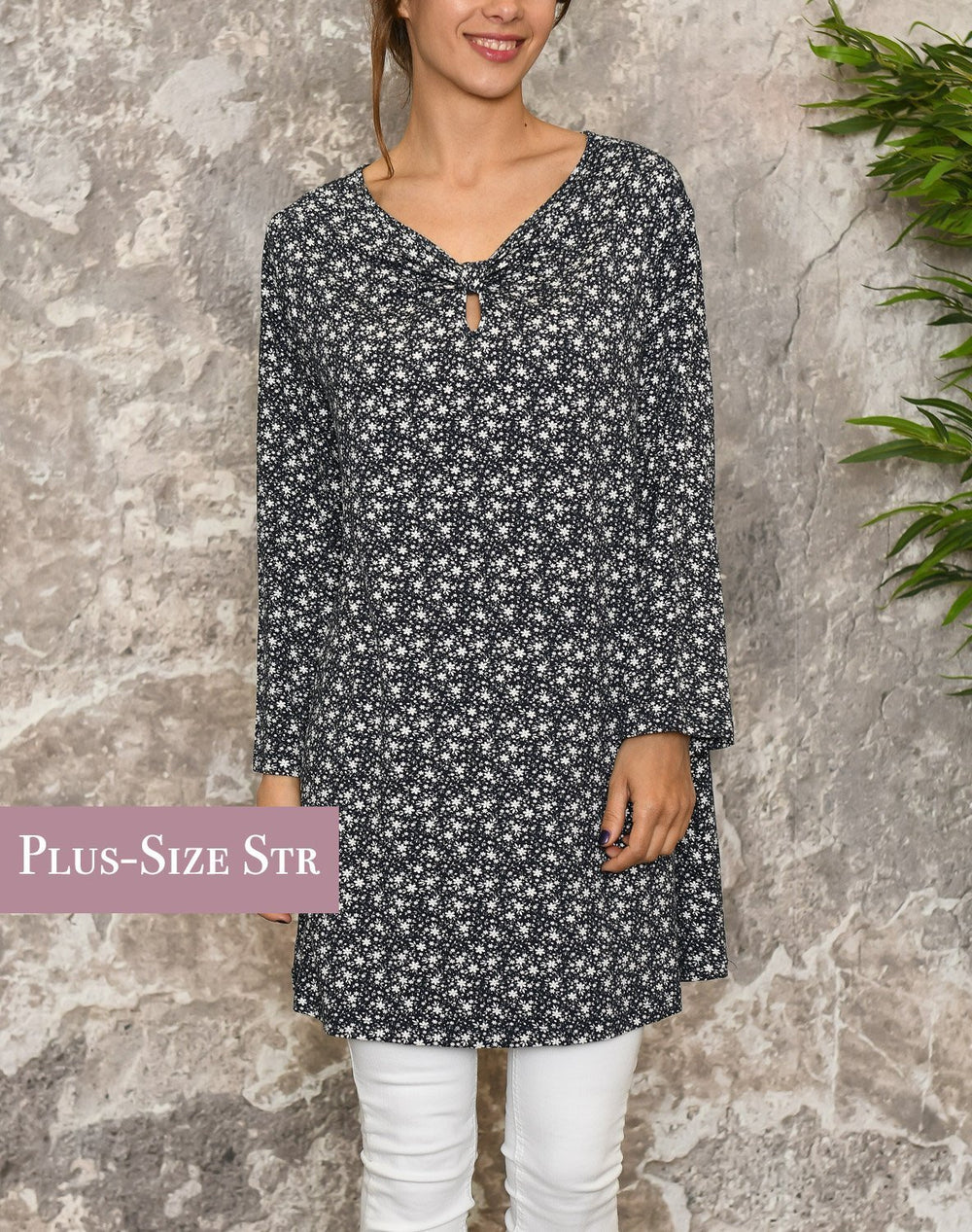 Cassiopeia Bie tunic navy combi - Online-Mode