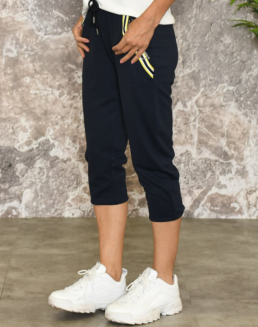Cassiopeia Frey pirate pants navy - Online-Mode
