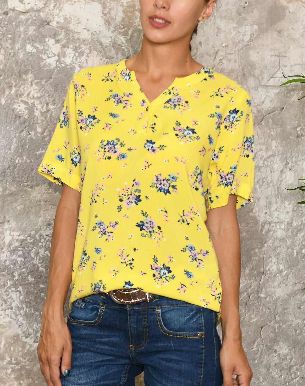 Cassiopeia Nikita shirt lemon - Online-Mode
