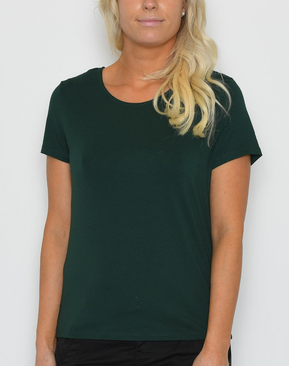 Cream AllieCR t-shirt pine grove - Online-Mode