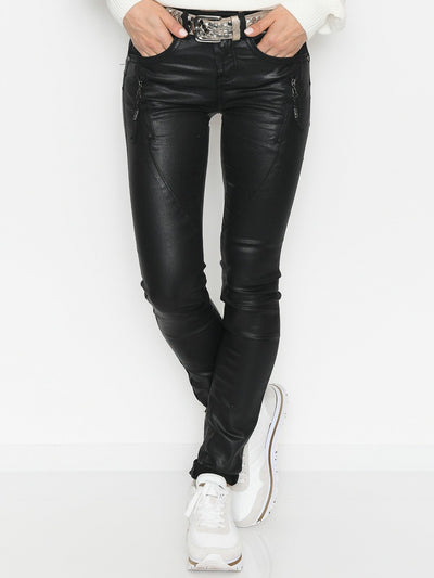 Cream Bibiana coated jeans black - Online-Mode