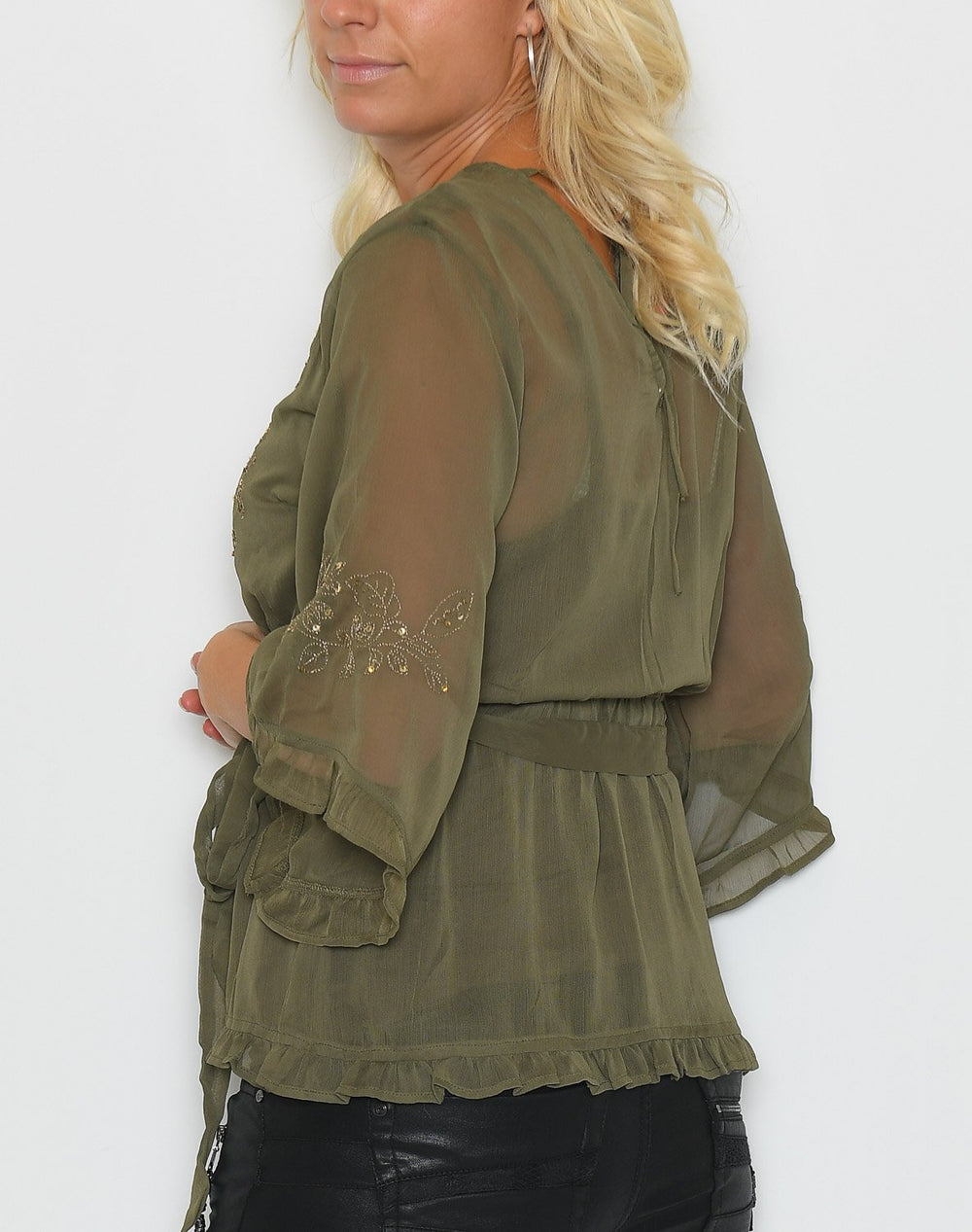 Cream Daisi bluse sea green - Online-Mode