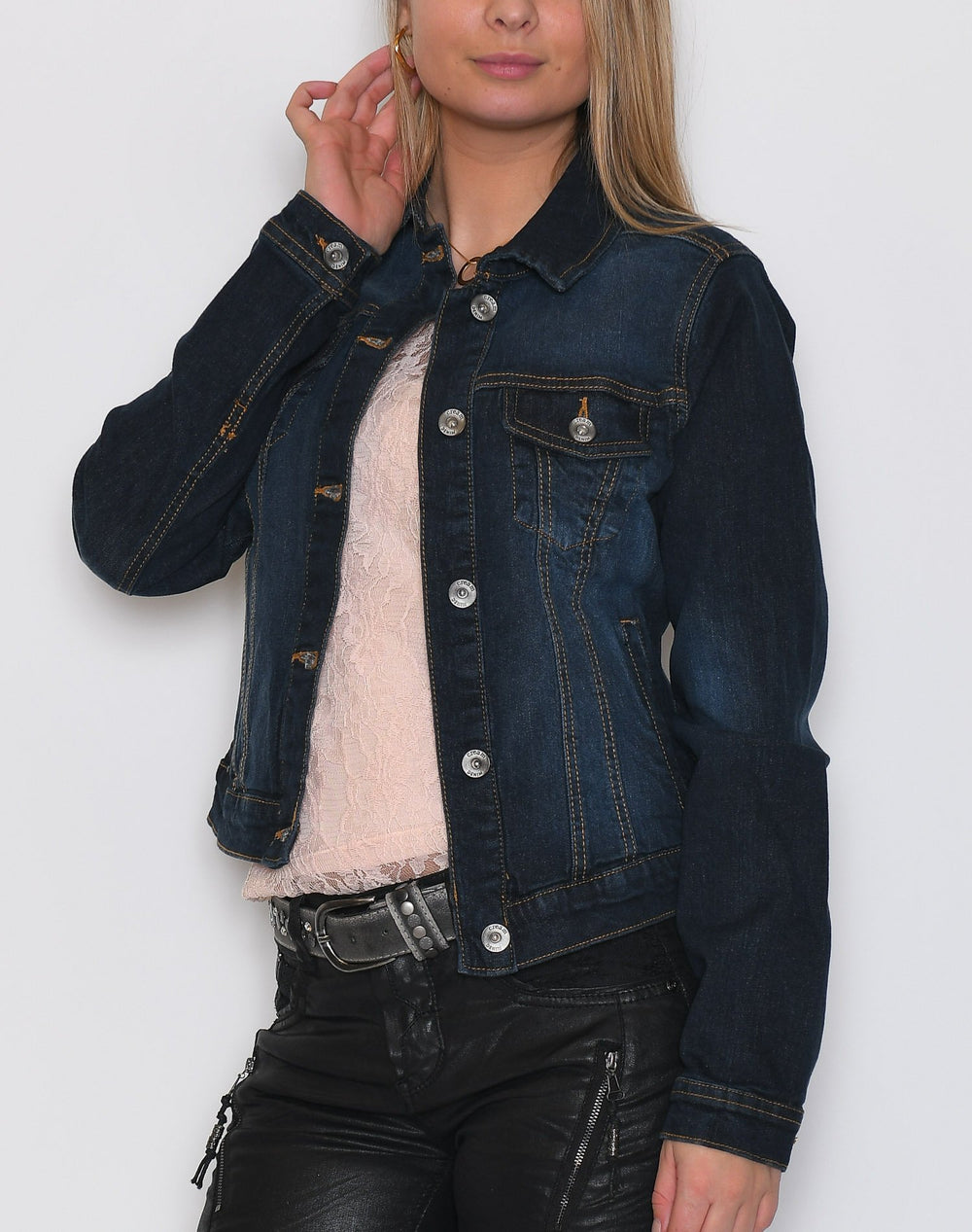 Cream Lisa denim jacket denim blue - Online-Mode