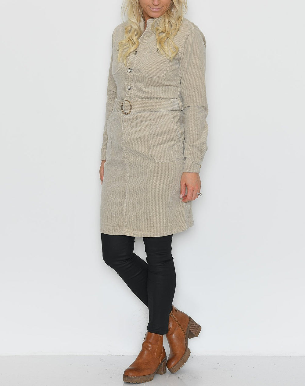 Cream SiljaCR dress light beige - Online-Mode