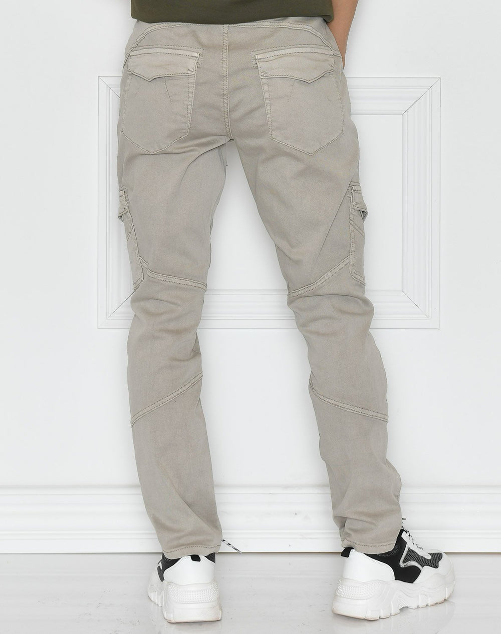 Culture CUabir cargo pants 7/8 dove - Online-Mode