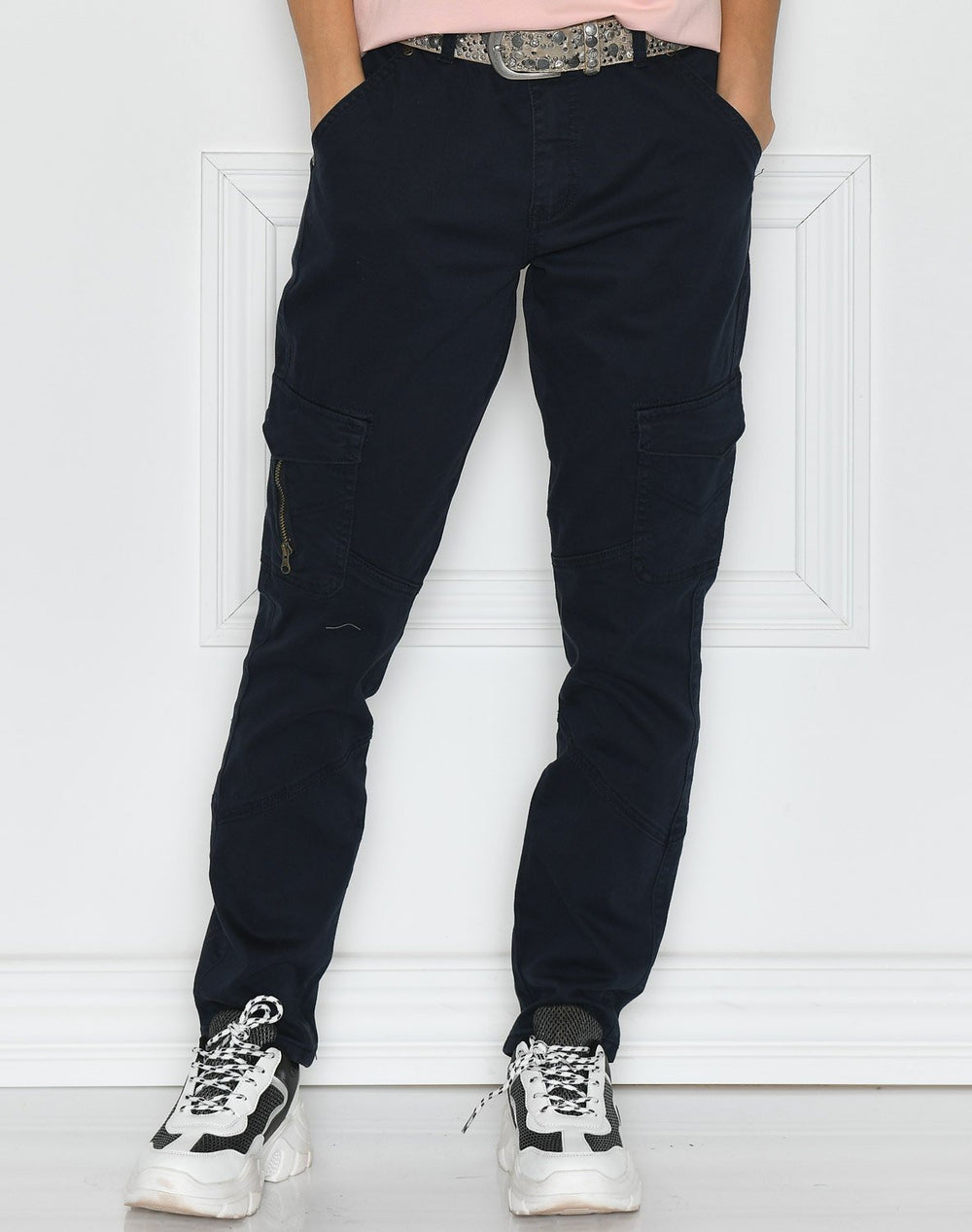 Culture CUabir cargo pants 7/8 salute wash - Online-Mode