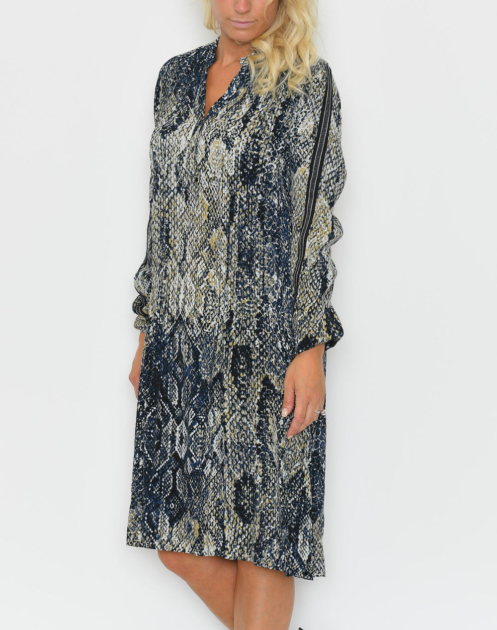 Culture CUandrea snake dress black - Online-Mode