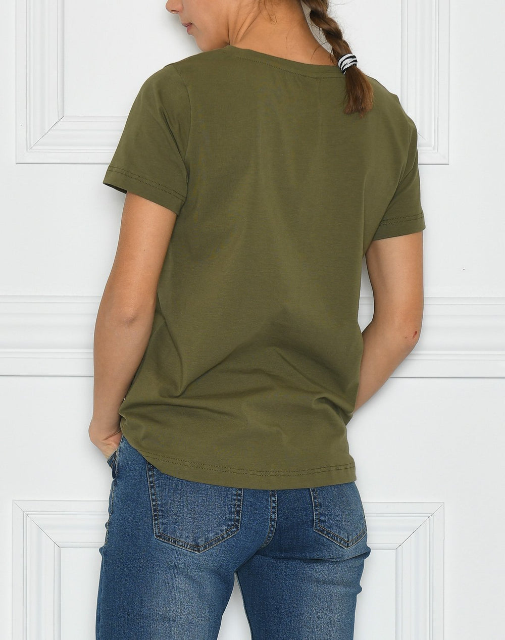 Culture CUgabriella t-shirt burnt olive - Online-Mode