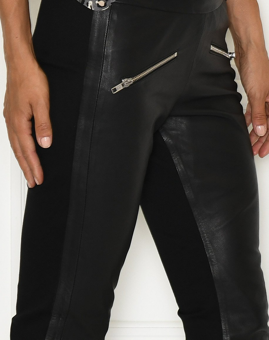 Culture CUjewel leather pants black - Online-Mode