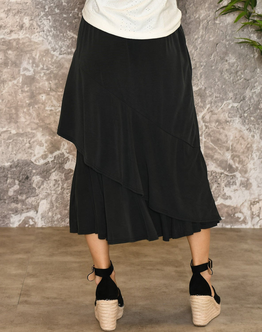 Culture CUkajsa skirt black - Online-Mode