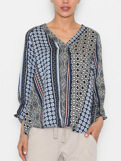Culture CUmouritza bluse blue iris - Online-Mode