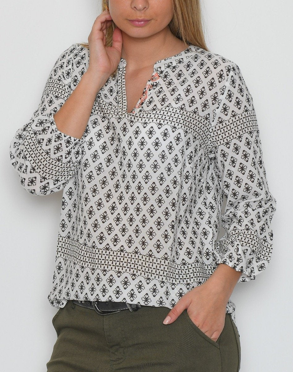 Culture CUnesibe bluse spring gardenia - Online-Mode