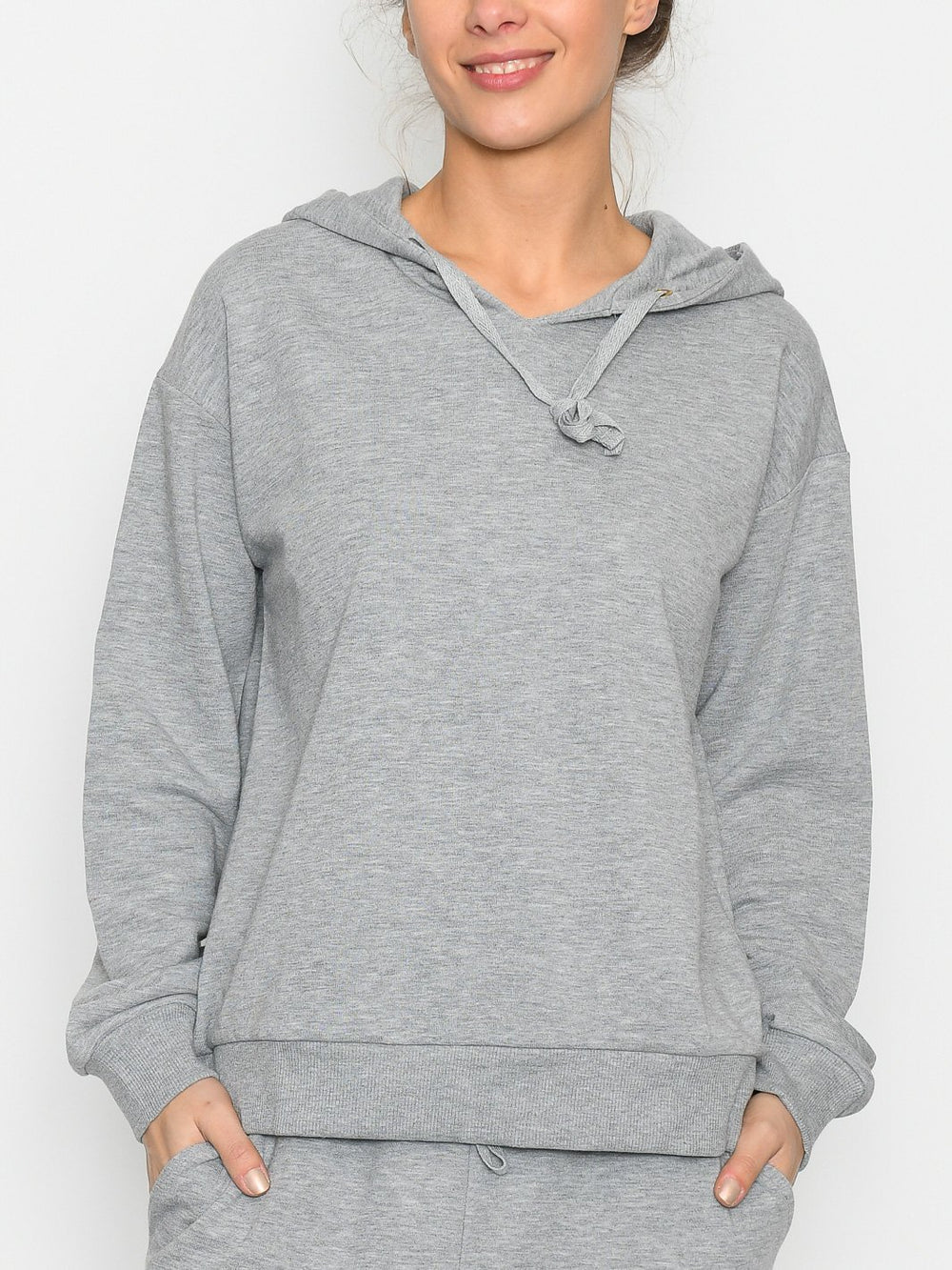 Culture CUvega hoodie grey melange - Online-Mode