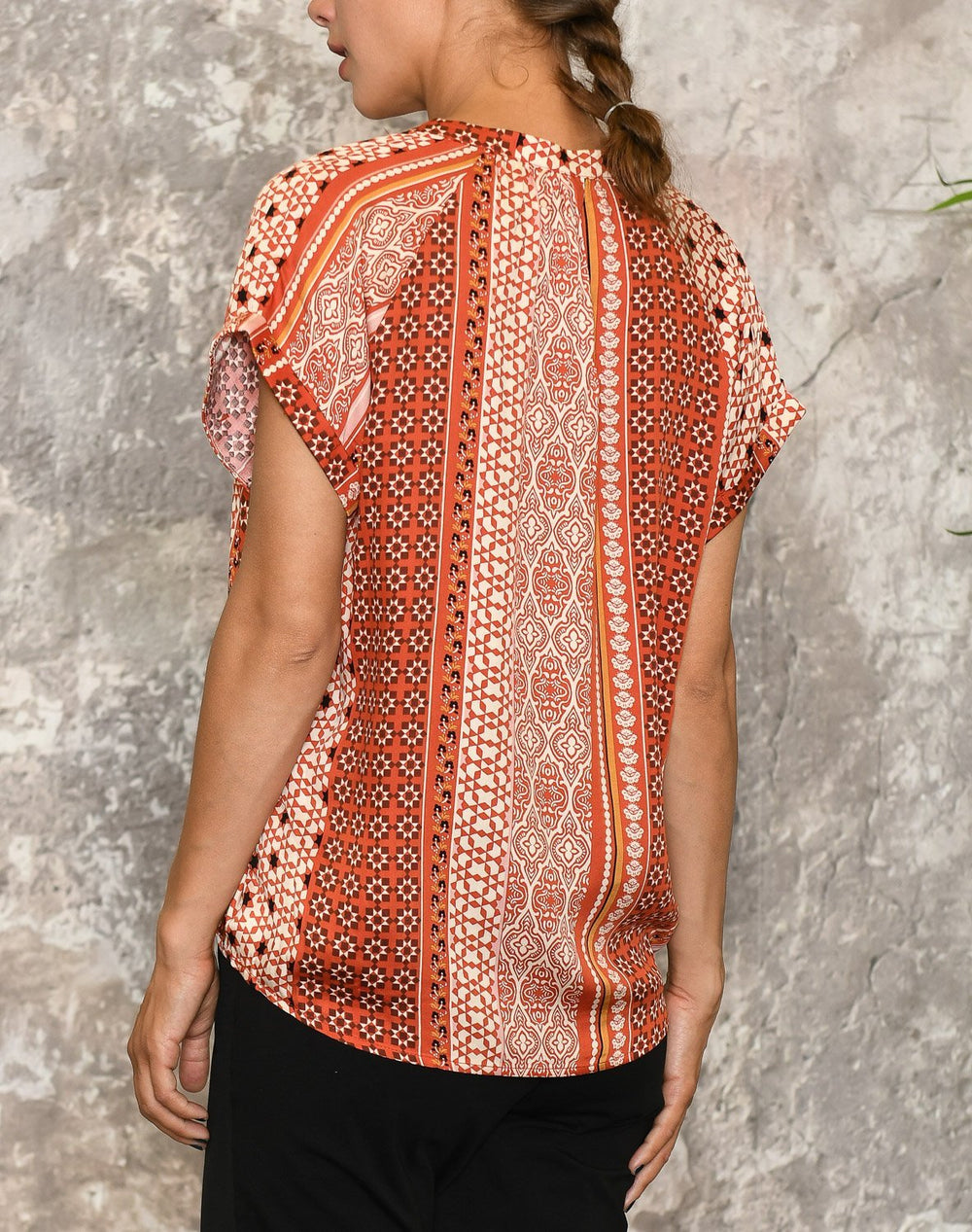 Culture CUzalan bluse mecca orange - Online-Mode