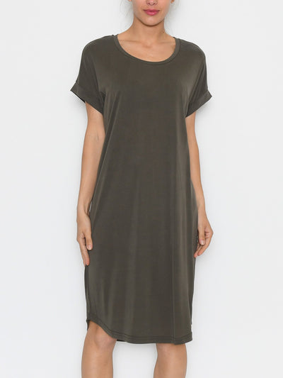 Culture Kajsa t-shirt dress sea turtle - Online-Mode