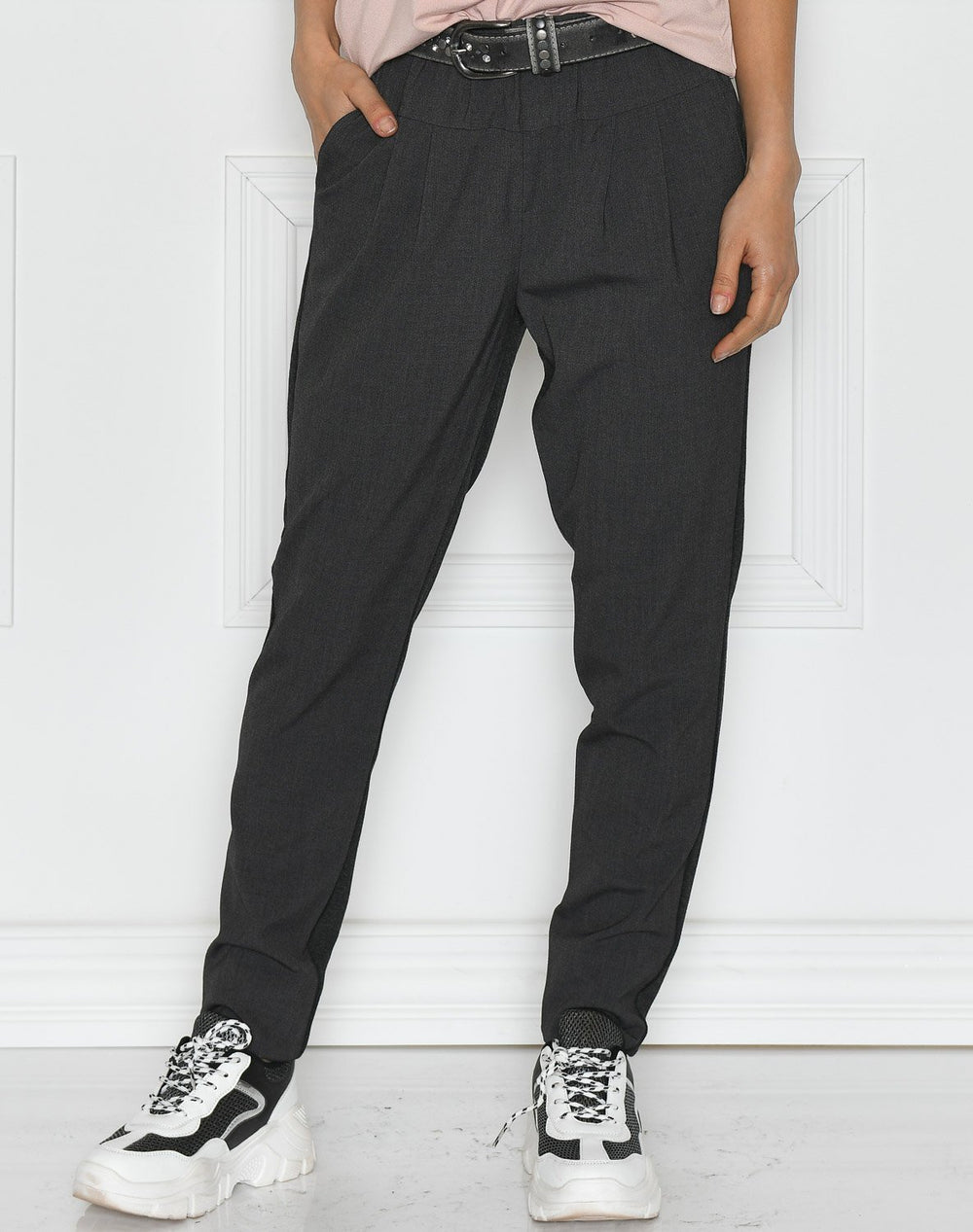 Culture Sarah pant dark grey melange - Online-Mode