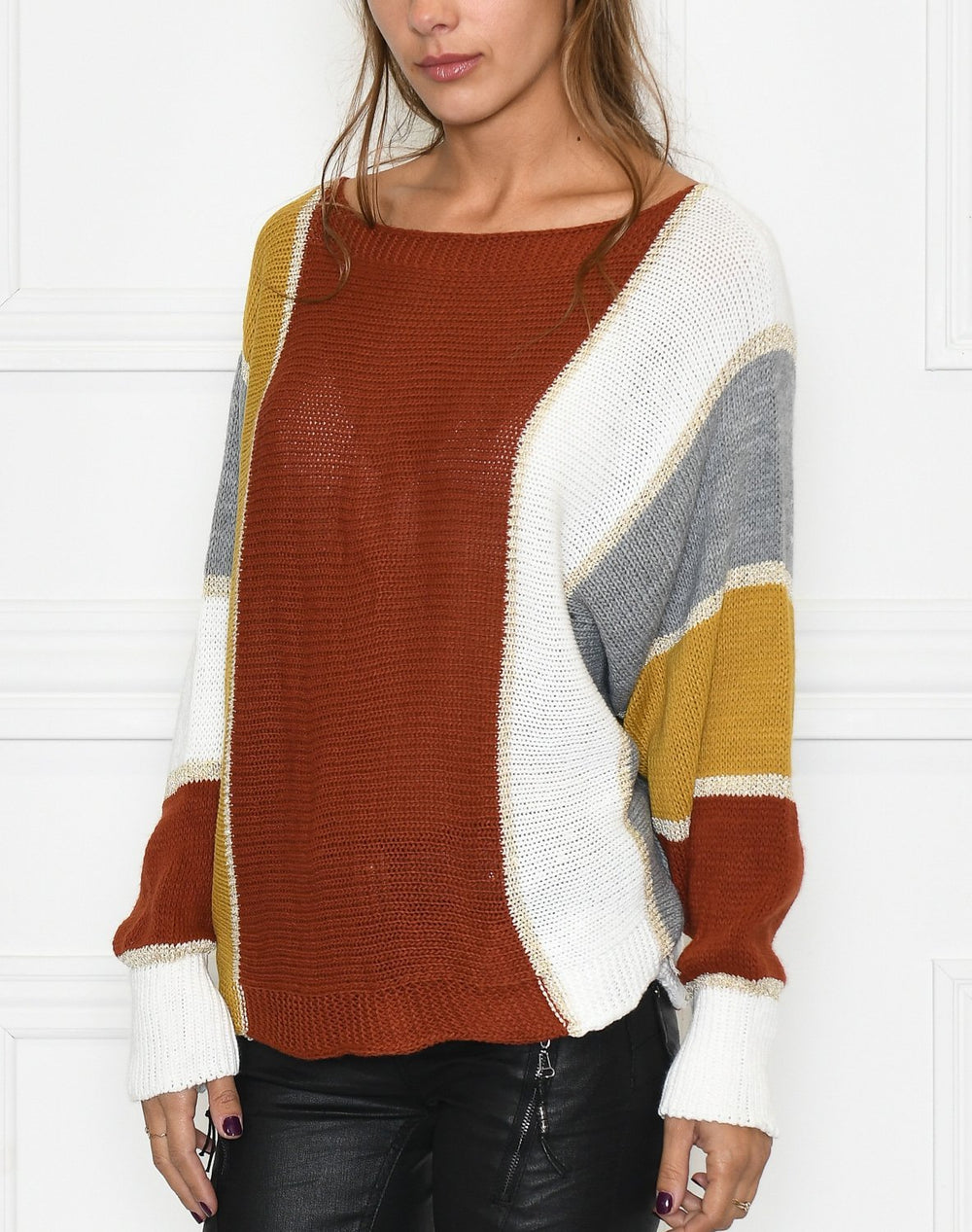 Dixie pullover red mix - Online-Mode