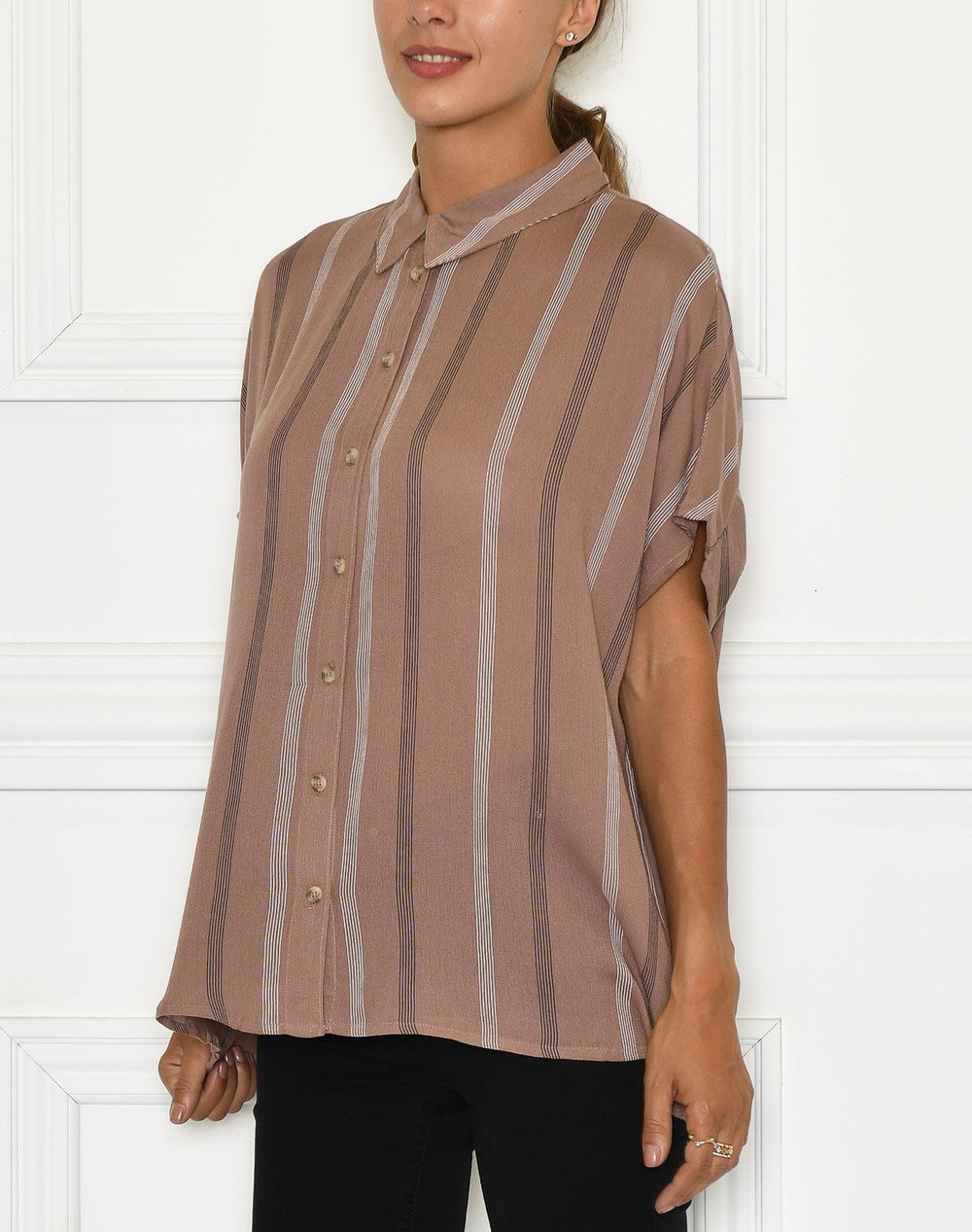Dranella DRJaxo 2 shirt striped brownie mix - Online-Mode