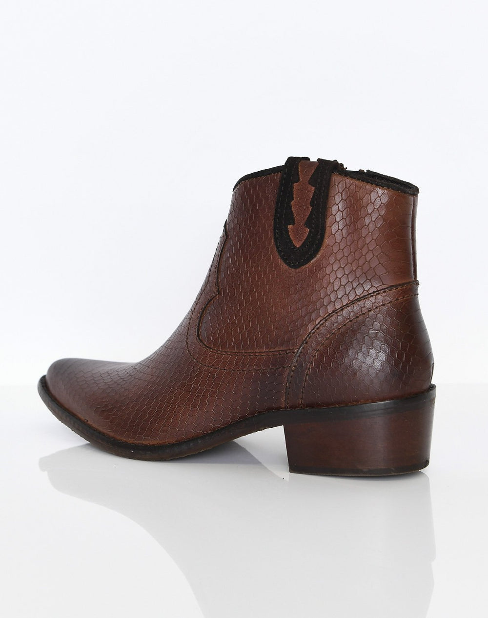 Duffy 5100124 boots cognac - Online-Mode