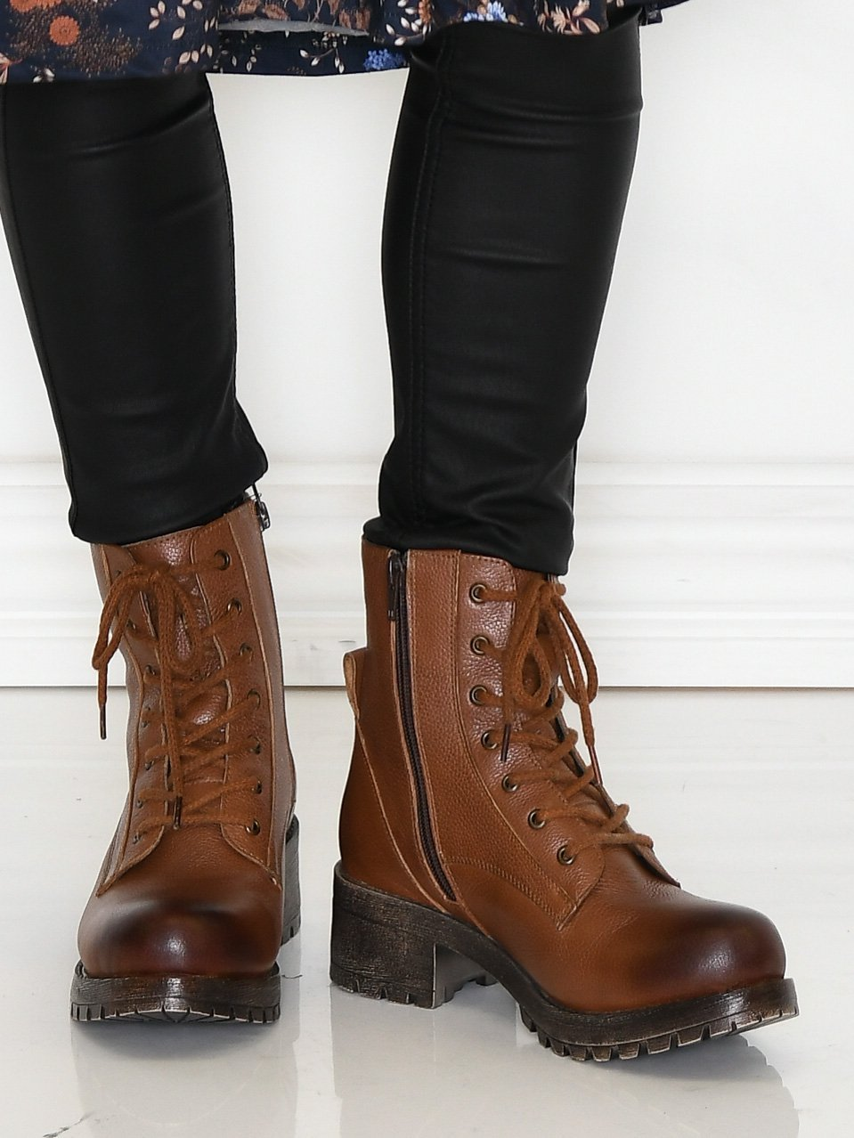 Duffy 6006311 boots cognac - Online-Mode