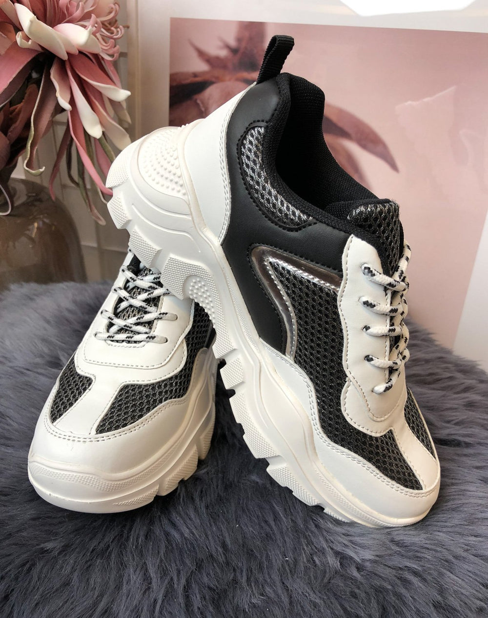 Duffy 9709133 sneakers white/black - Online-Mode