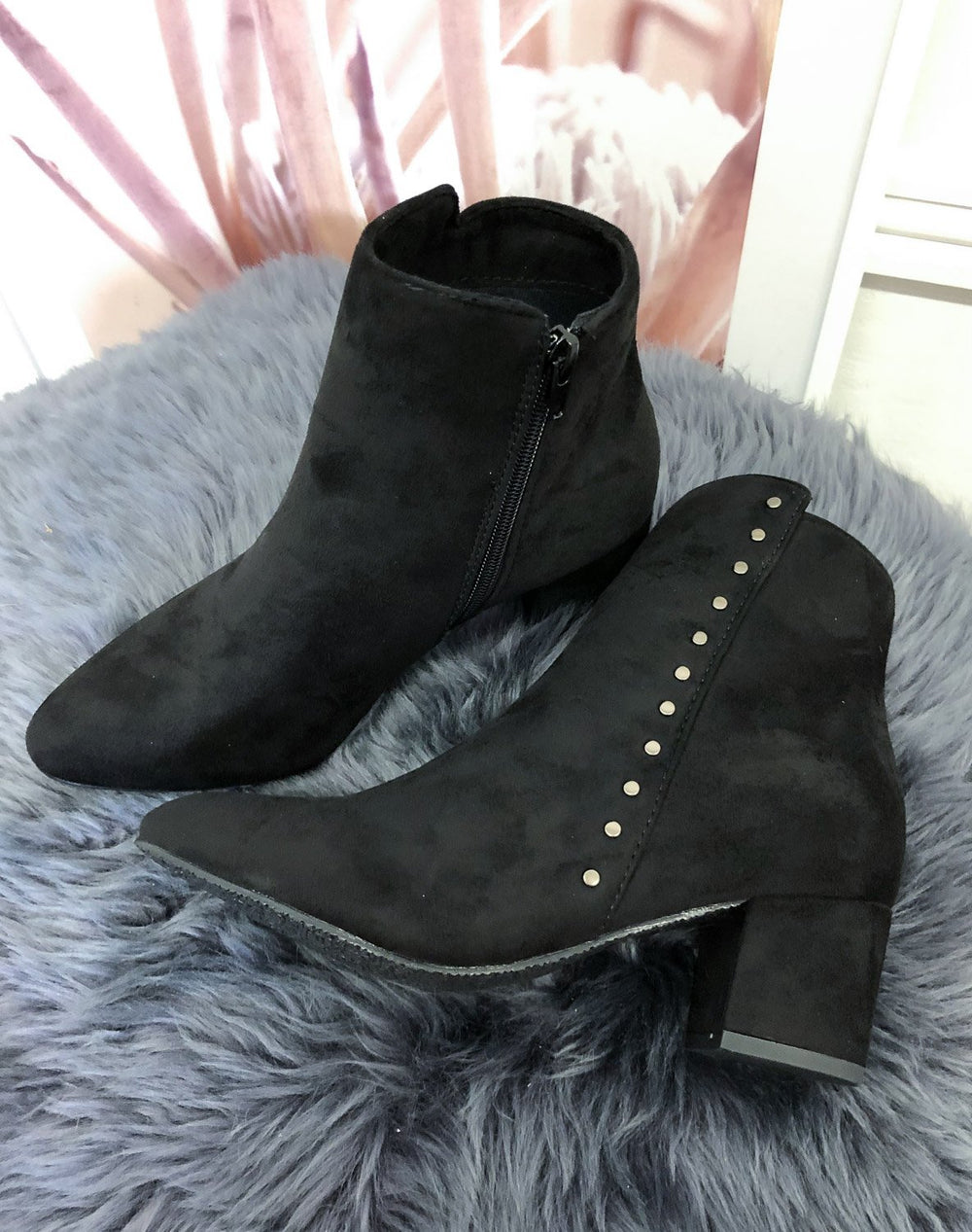 Duffy 9709140 boots black - Online-Mode