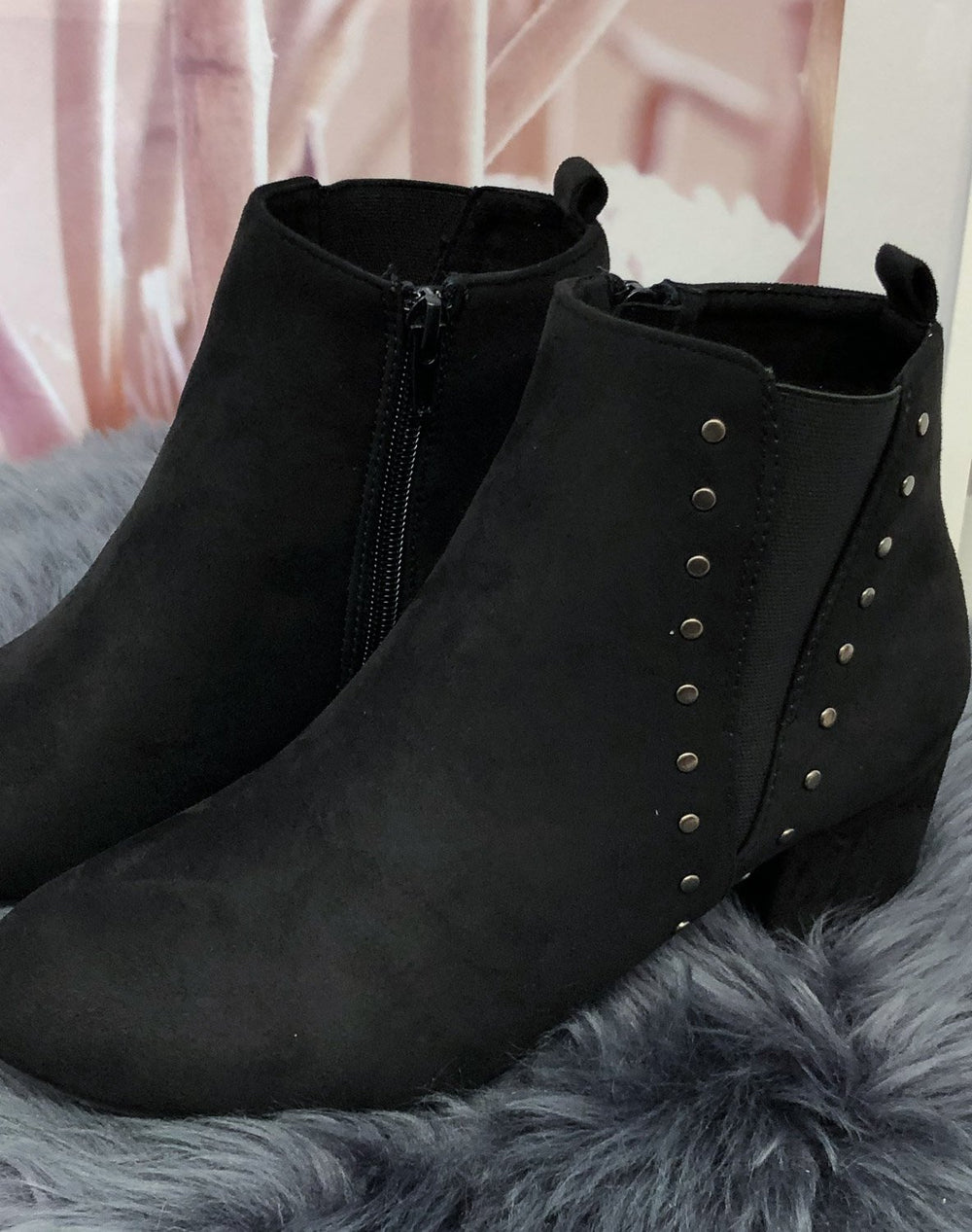 Duffy 9709143 boots black - Online-Mode