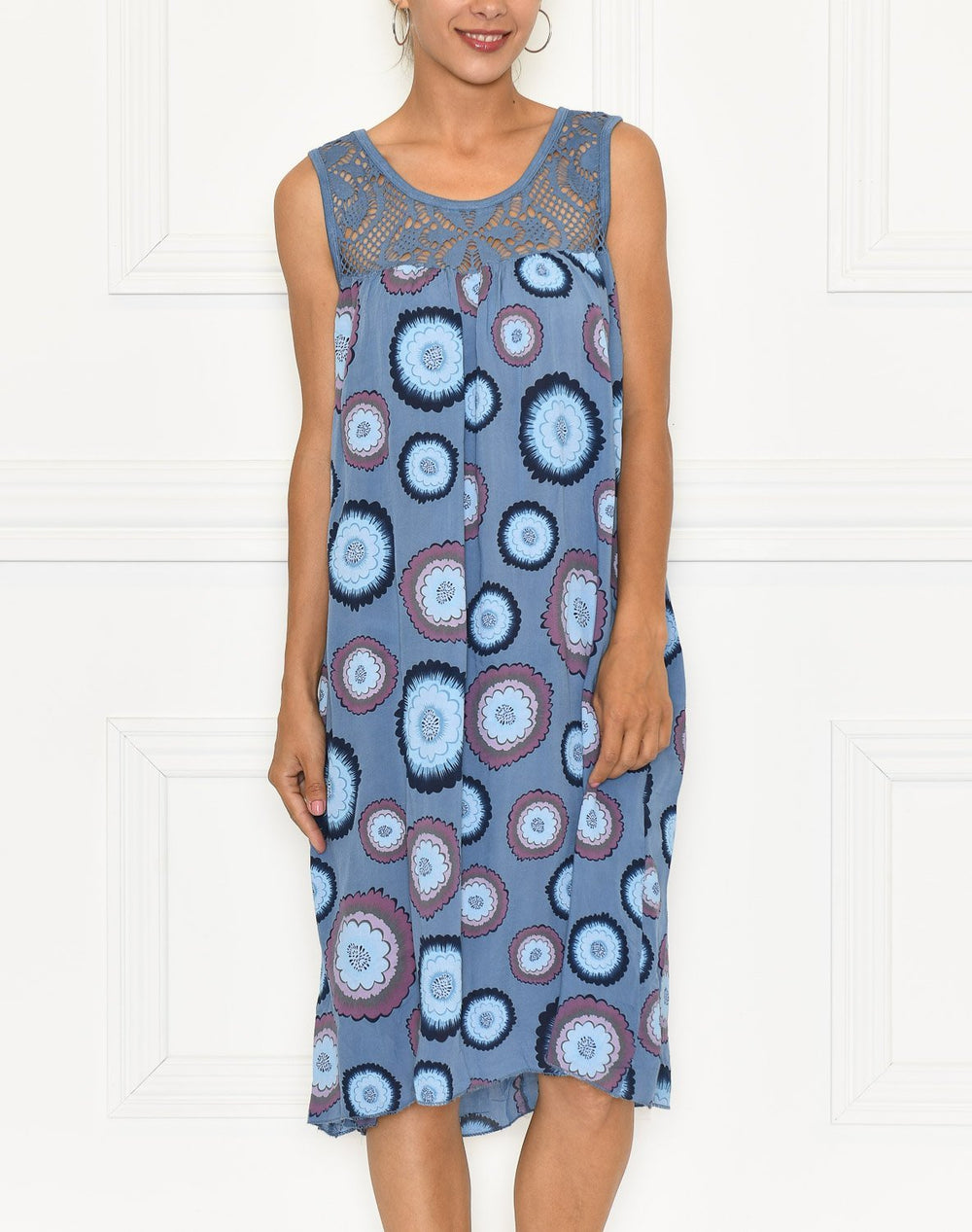 Edie dress blue - Online-Mode