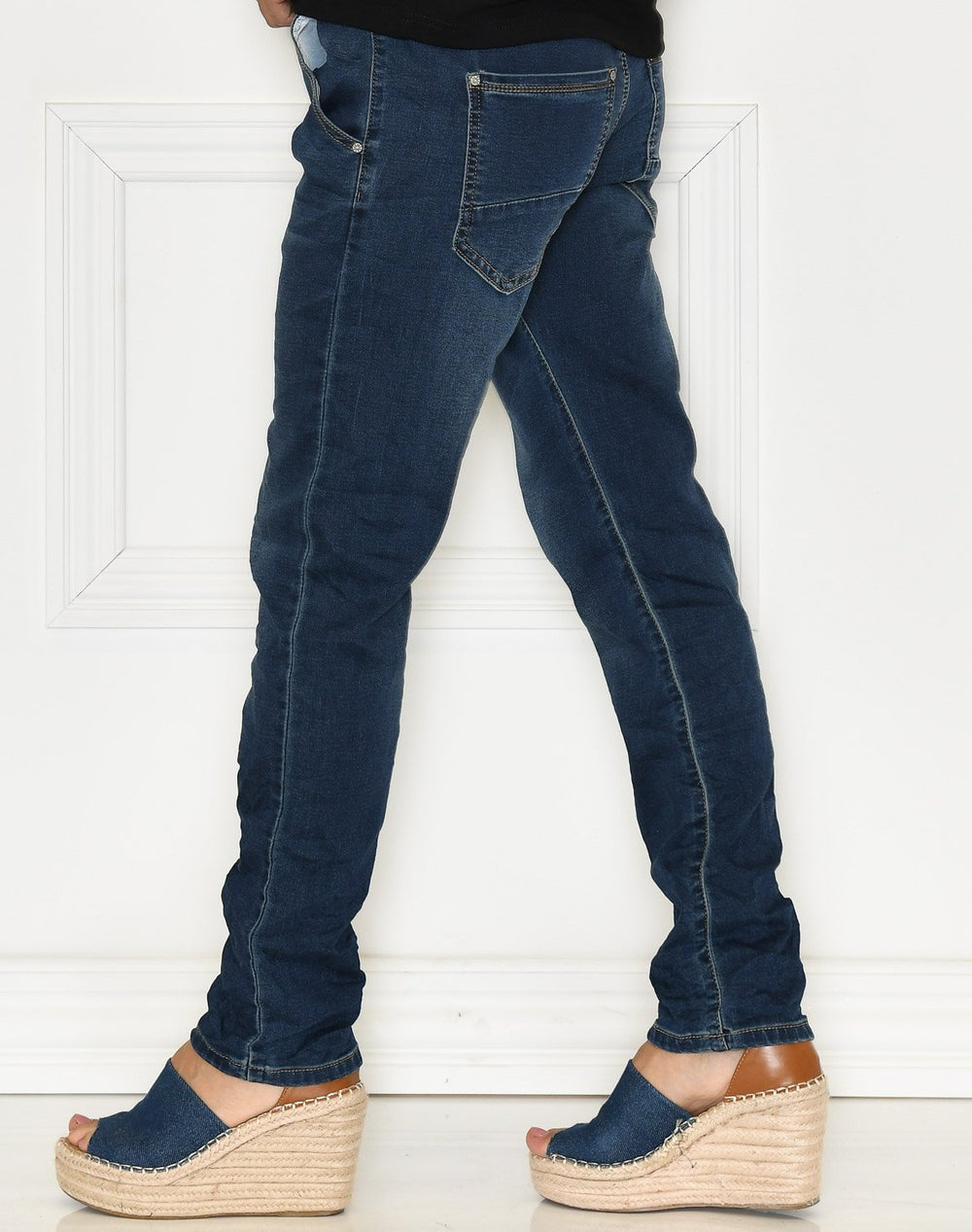 Emily pants blue washed - Online-Mode