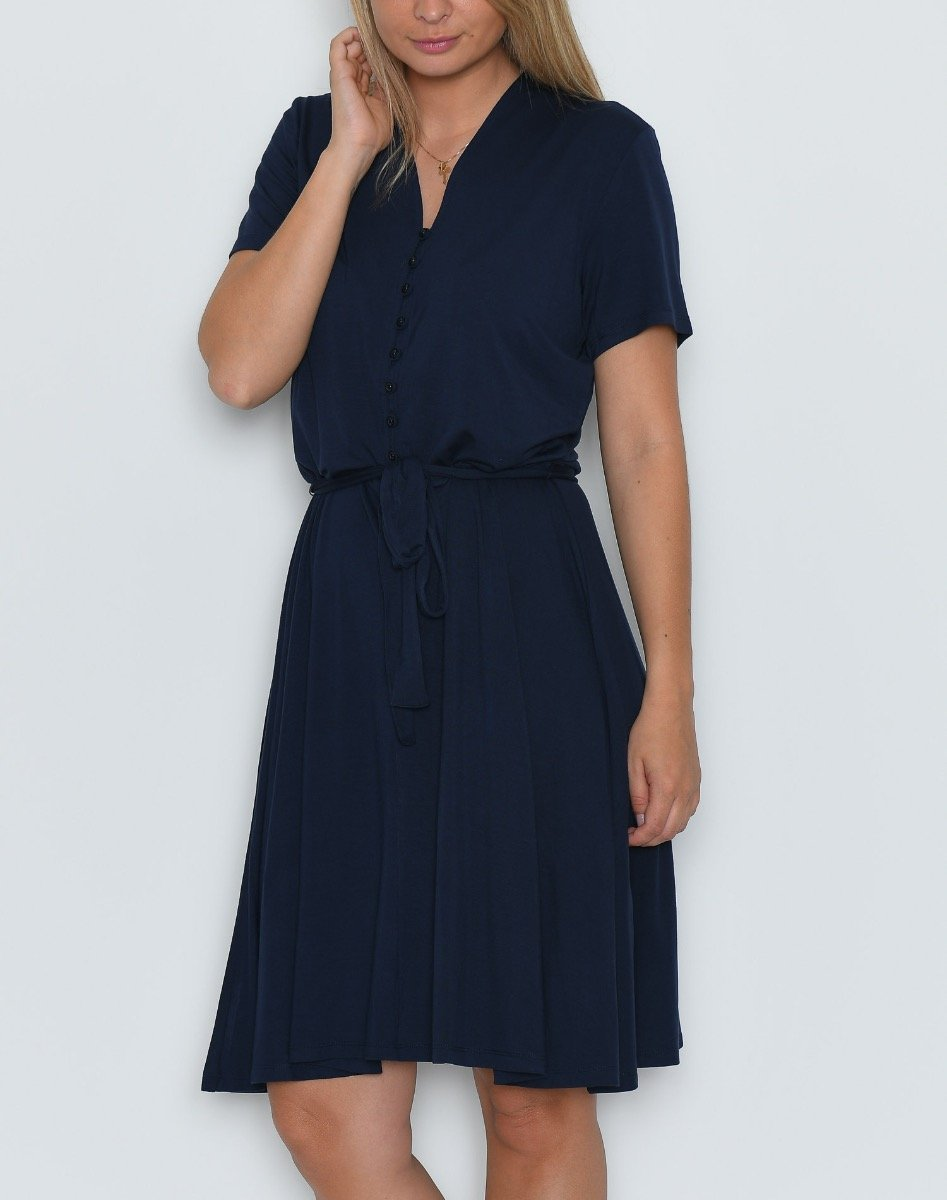 Fransa FRemdress 1 dress maritime blue - Online-Mode