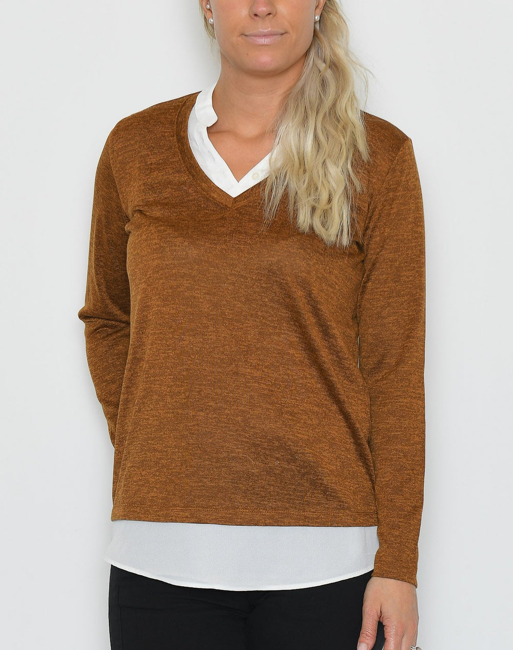 Fransa FRFirexan 1 bluse cathay spice - Online-Mode