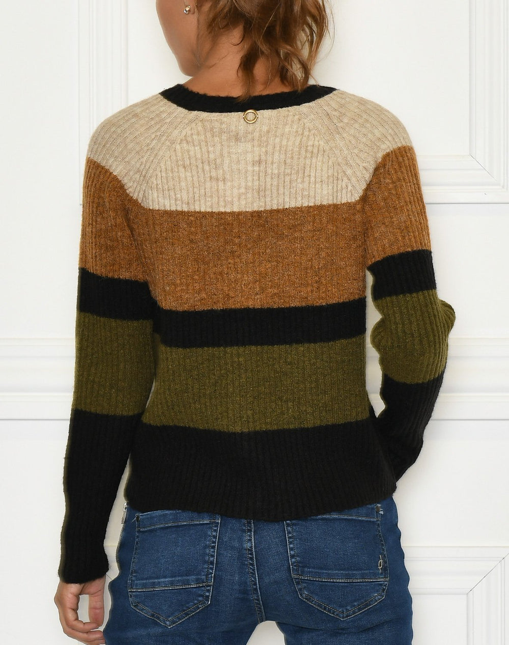Fransa FRMeblock 3 cardigan cathay spice mix - Online-Mode