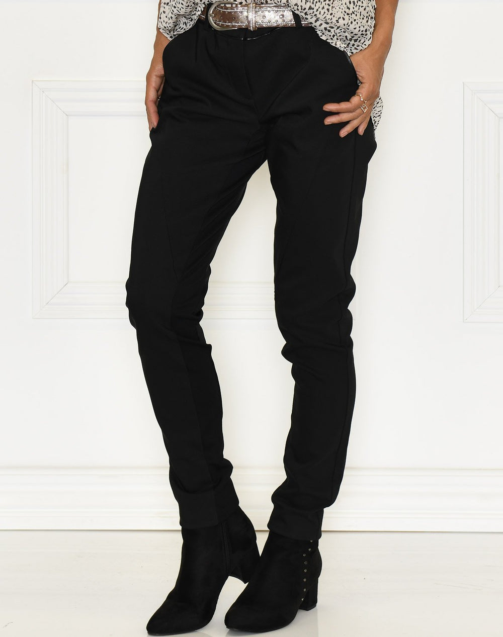 Fransa ZACity 3 pants black - Online-Mode