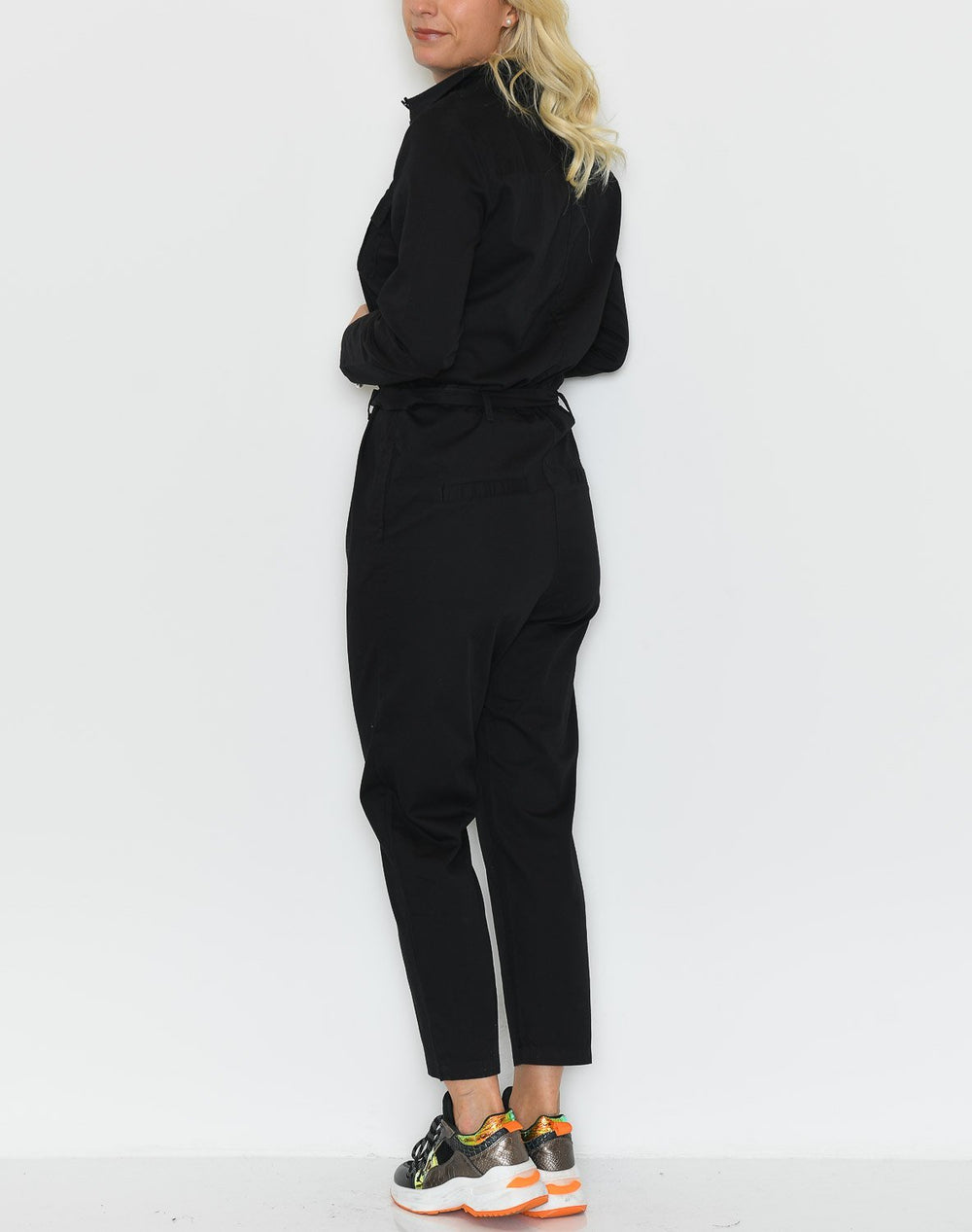 Ichi IHalba jumpsuit black - Online-Mode