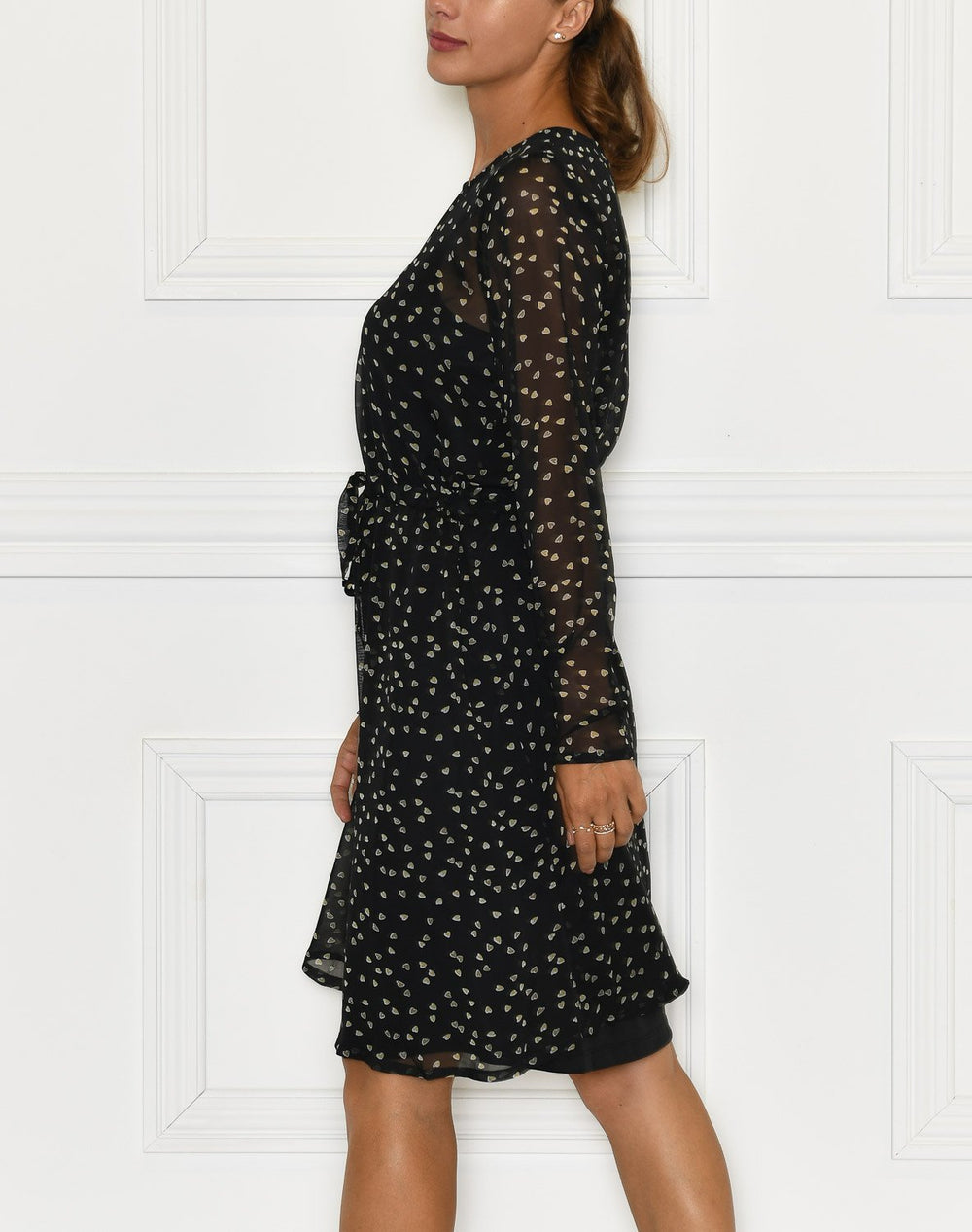 Ichi IHBetty dress black - Online-Mode