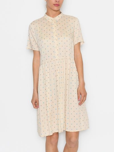 Ichi IHfarice dress tapioca - Online-Mode