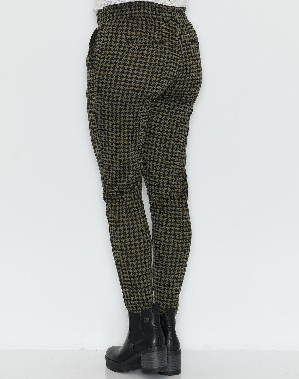 Ichi IHKate hounds pants dark olive - Online-Mode