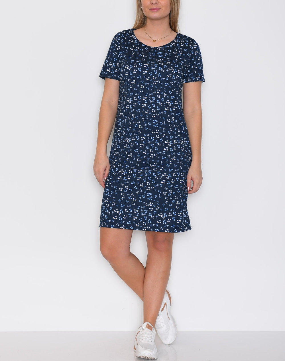 Ichi IHKate print dress 3 total eclipse - Online-Mode