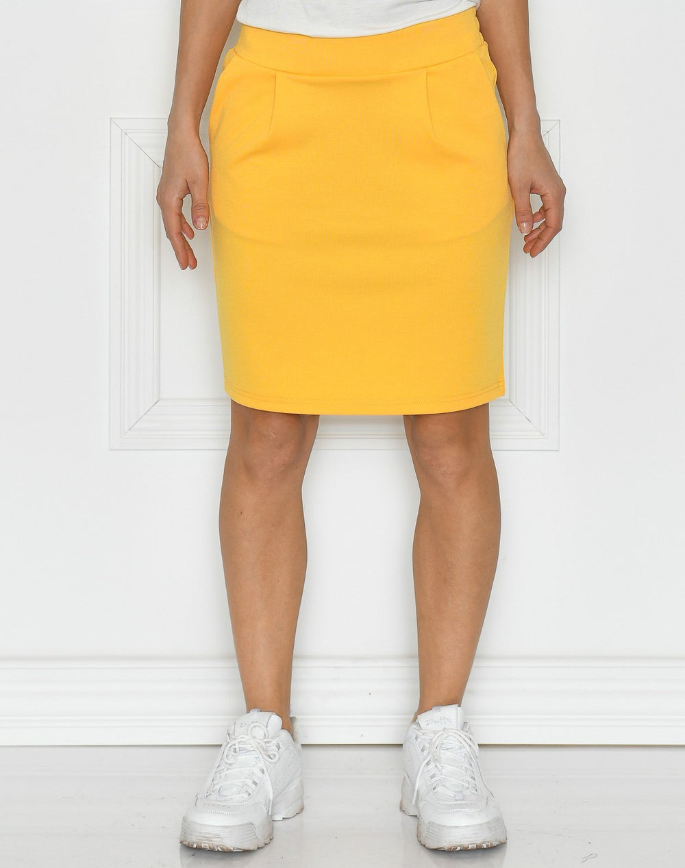 Ichi IHkate skirt buff yellow - Online-Mode