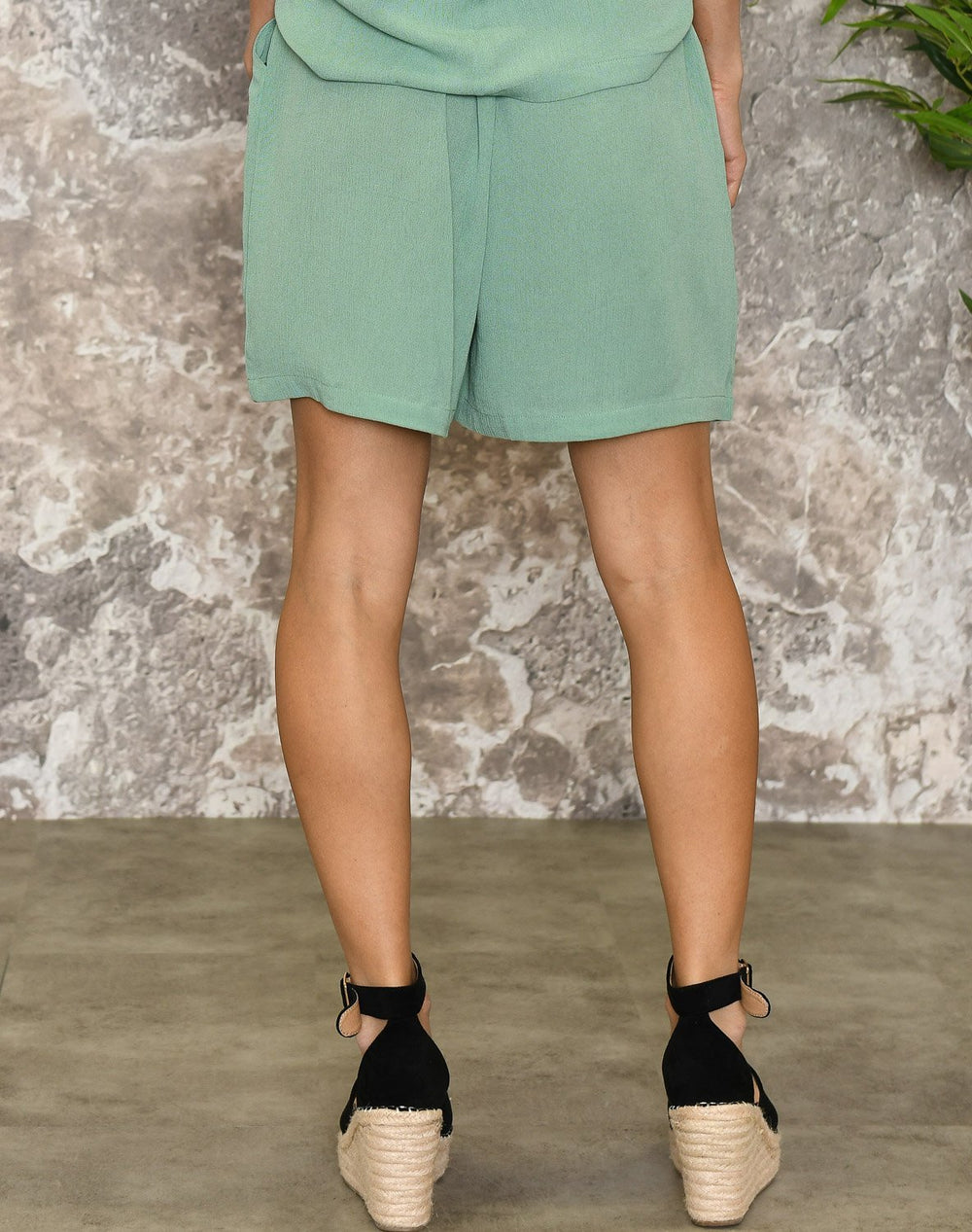 Ichi IHmarrakech shorts 3 malachite green - Online-Mode