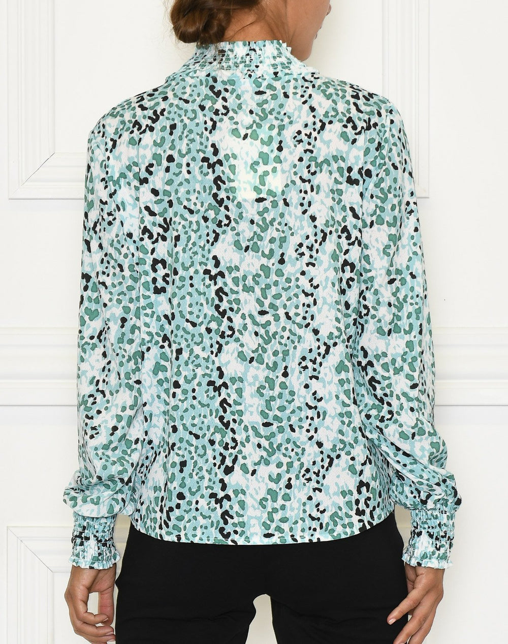 Julie bluse 2 minty dots - Online-Mode