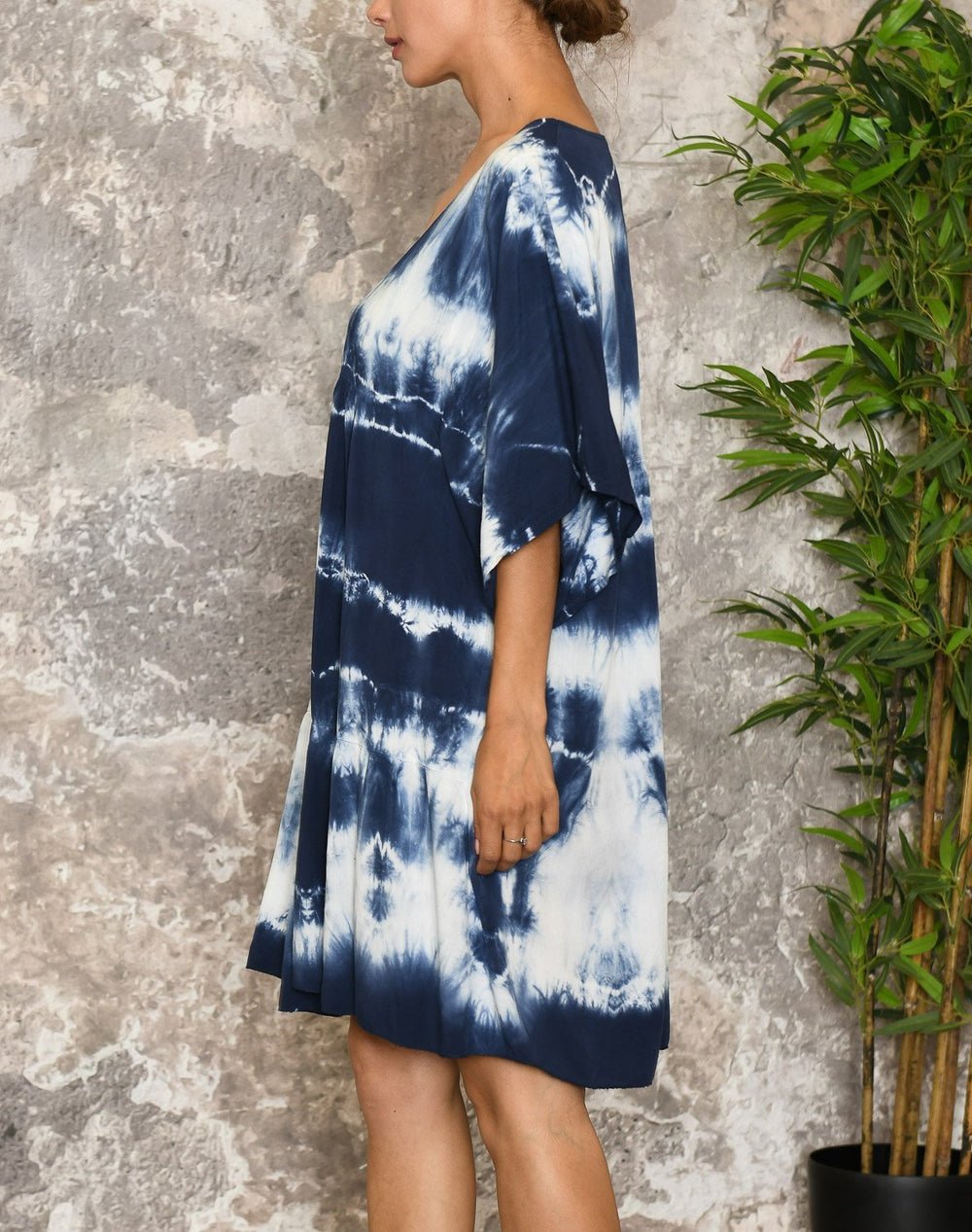 Julissa dress navy mix - Online-Mode