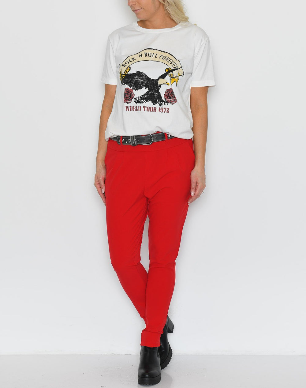 Kaffe Jillian pants haute red - Online-Mode