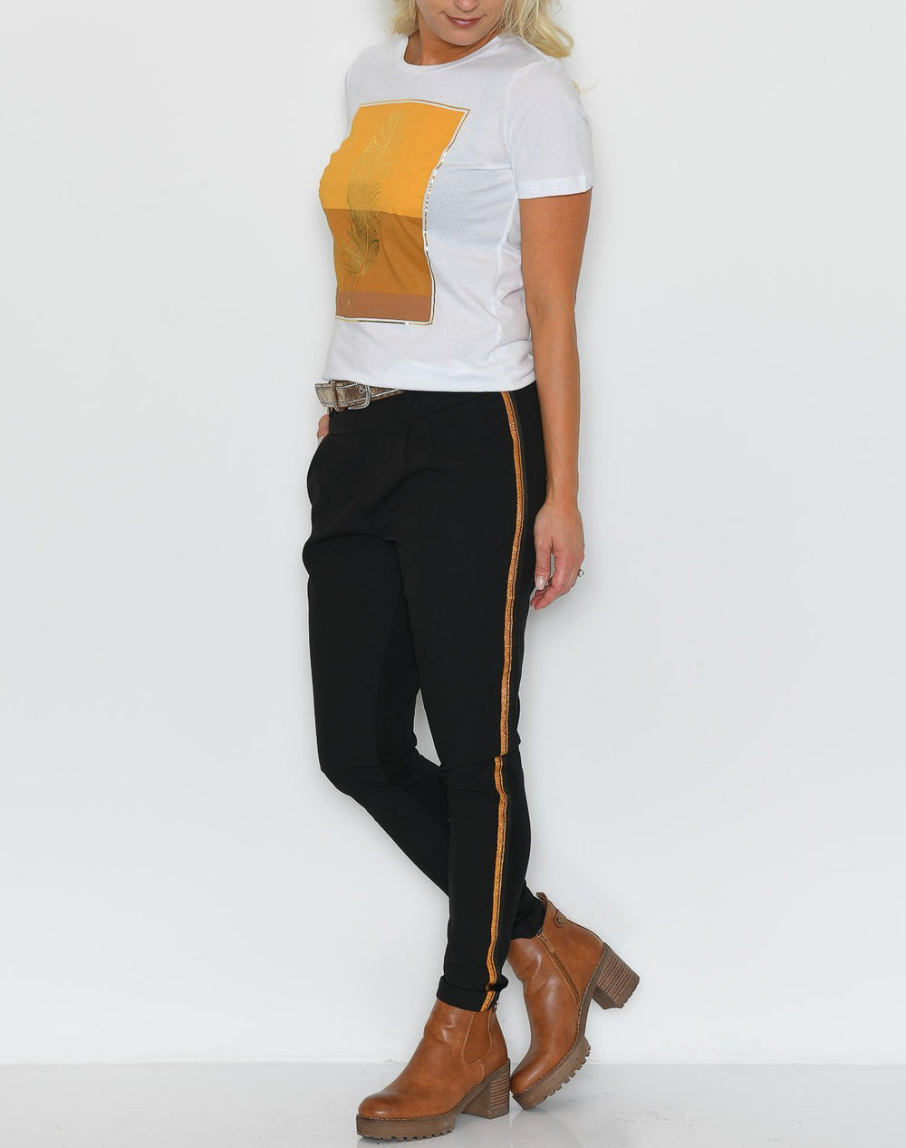 Kaffe KAcopper Jillian pants black deep - Online-Mode