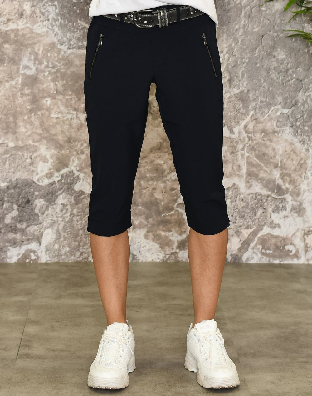 Kaffe KAjillian Vilja capri pants midnight marine - Online-Mode