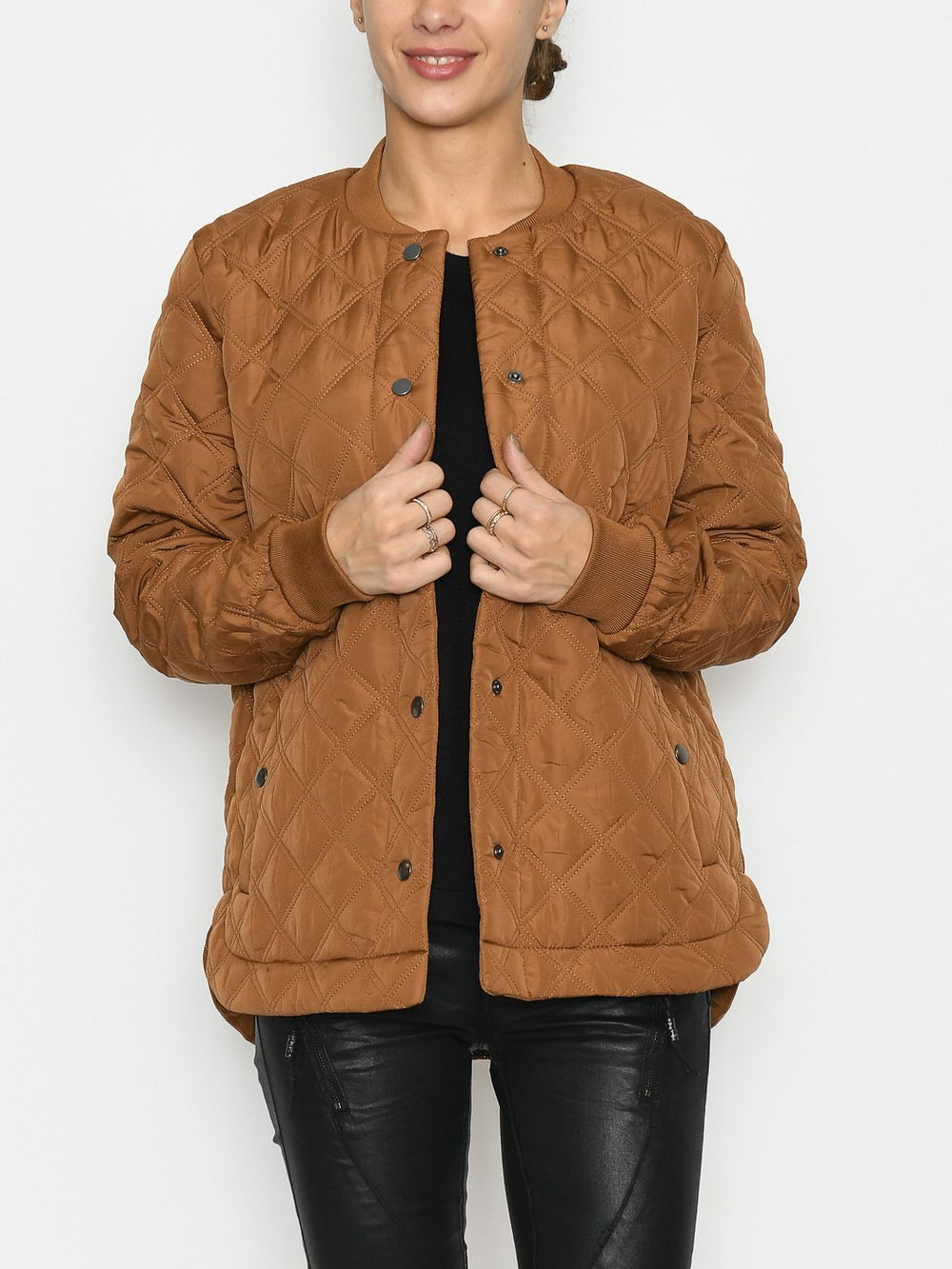 Kaffe KAjulie quilted jacket thrush - Online-Mode