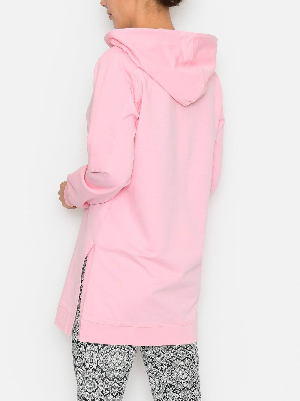 Kaffe KAlano sweat tunic candy pink - Online-Mode