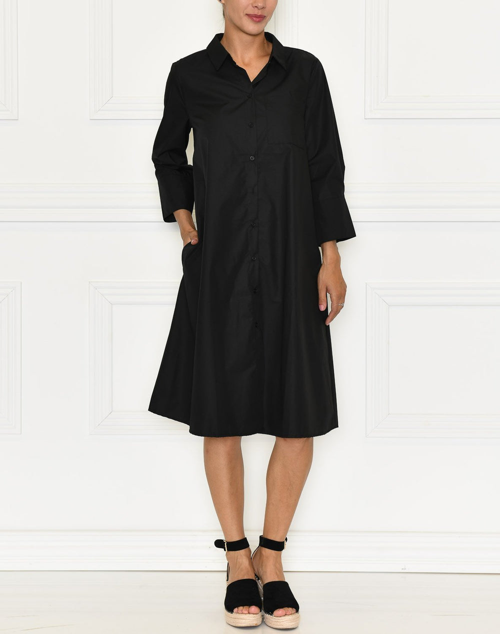 Kaffe KAlolly dress black deep - Online-Mode