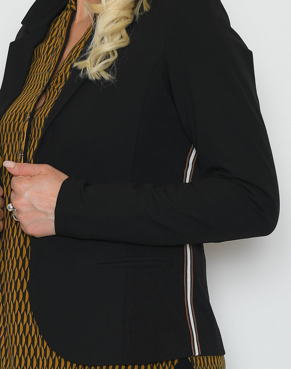 Kaffe KApila Jillian blazer black deep - Online-Mode