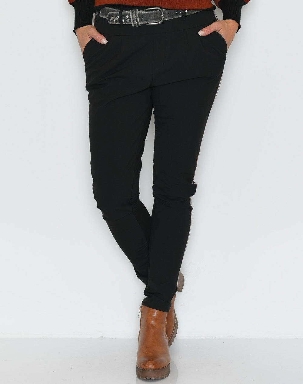 Kaffe KApila Jillian pants black deep - Online-Mode
